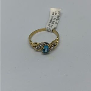 10k blue topaz diamond ring-8